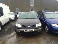 2007 RENAULT MEGANE DYNAMIQUE DCI 1.5 DIESEL BREAKING FOR PARTS ONLY POSTAGE AVAILABLE NATIONWIDE
