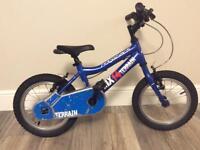 """Kids Ridgeback MX14 bike - 14"""" wheels - Boys Mountain Bike in blue"""