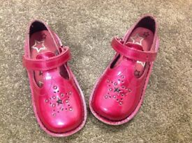 Pink Kickers Shoes Size 28