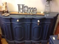 Shabby Chic / Retro solid wooden sideboard