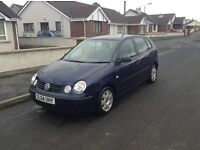 2003 VOLKSWAGON POLO 1.2 TWIST