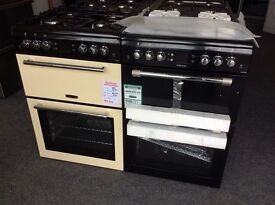 Leisure cookmaster 60cm double oven new in package 12 mths gtee