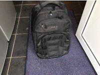 Rock Backpack on Wheels