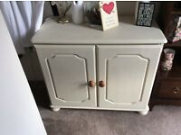 Shabby Chic Desk and Storage Cupboard.