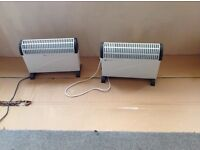 Two Electric Heaters For Sale