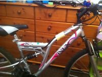 Nearly new MTB bike
