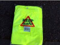 Brand new Hi-Viz safety yellow trousers xxl