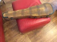 Concert Solo Violin Stradivarius violin and faus-crocodile skin case + extras.