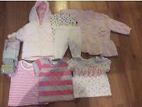 Next first size girls bundle