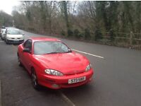 BARGAIN! Hyundai Coupe *PRIVATE PLATE* ALLOYS and MOT