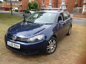 VW Golf 1.6 Tdi Blue Motion Tech SE 5dr Estate Fully Loaded