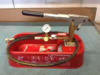 Rothenberger RP30 pressure testing pump.