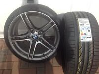 BMW 313 front alloy+2 new tyres