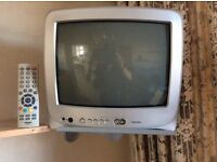 """Toshiba Compact 14"""" TV With Remote Control"""