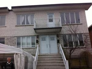 Montreal nord, 31/2 rue Ovide Clermont, libre  500.00$