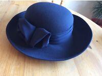 Hat, navy jacques vert