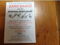 BARN DANCE at PEVENSEY MEMORIAL HALL FEBRUARY 4th