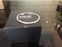 STUNNING DESIGNER 18 CARAT WHITE GOLD DIAMOND BANGLE FROM DEMILLES JEWELLERY BY PAUL GRANELLI £2050