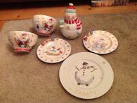 Christmas crockery collection