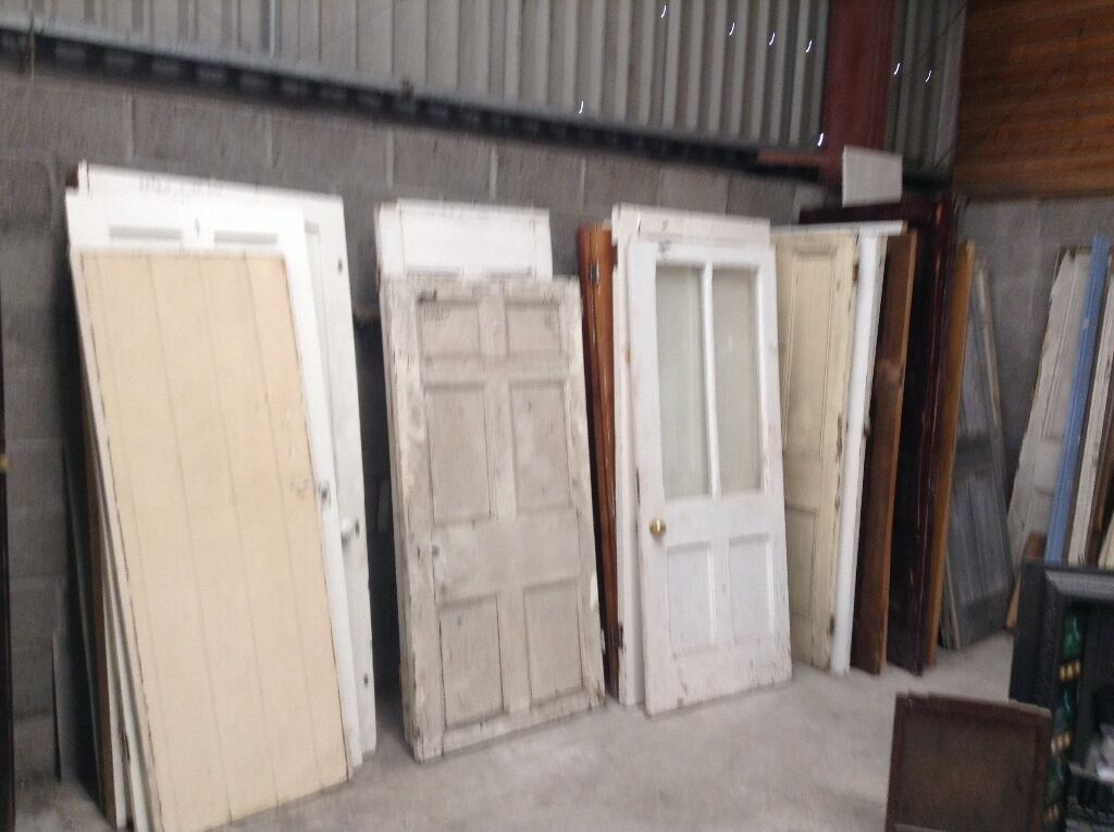 Reclaimed pine interior doorin NewportGumtree - Reclaimed pine door Many shapes and sizes to clear Price is per door Pop in and choose one Welsh salvage newport