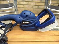 Einhell electric hedge trimmer. Only used a couple of times.