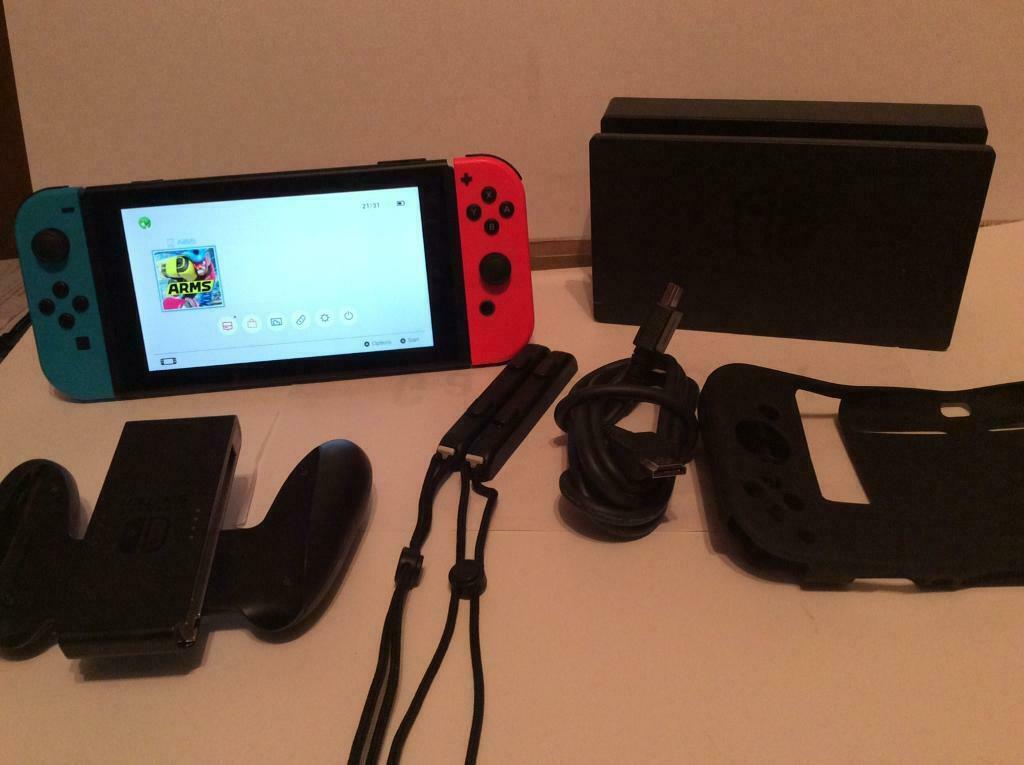 Nintendo switch with early pre patch serial number | in Stoke-on-Trent,  Staffordshire | Gumtree