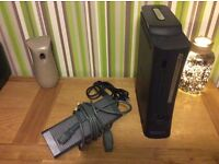 Xbox 360 elite 120gb edition with 9 games