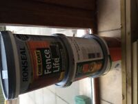 Ronseal One Coat Fench Life