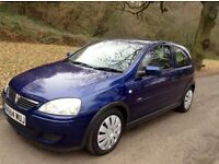 Vauxhall corsa 1.2cc year 2004 54plate excellent condition (mot November 2017) lovely drive