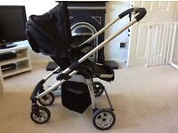 I Candy Cherry pushchair and Pram including Maxi Cosi adopters, rain cover etc!