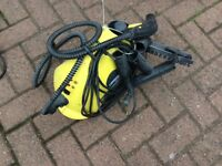 Karcher Steam Cleaner with attachments