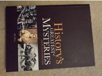 History's Greatest Mysteries book
