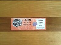 Twinwood Music Festival 3 Day Weekend Ticket 26th - 28th August 2017