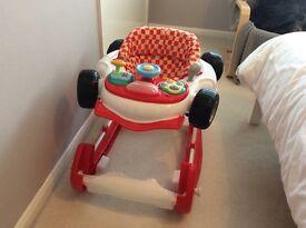 My car walker/rocker red