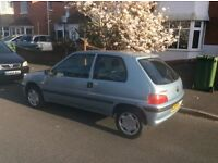 Peugeot 106 Indepence, 139059 miles, recently serviced