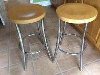Kitchen stools (pair)