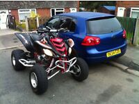 2005 Yamaha raptor 660 road legal clean example £3500ovno