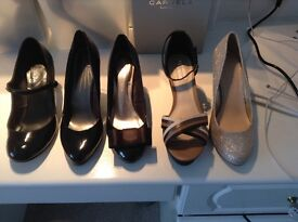 A selection of New & Nearly New shoes