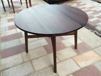 Round Dining Table / folds away + 2 Dining Chairs