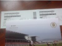 2x Tattersalls tickets for Friday 17th March (Gold Cup Day)