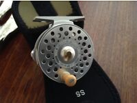 """Hardy baby bougle fly reel 2 1/2"""" collectors fly reel ."""
