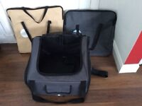Pet Cat/Dog Car Seat Carrier in grey also in cream