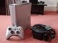 Xbox 360 Slim Halo Reach LIMITED EDITION 250 GB Console + Controller + PSU + AV Lead RARE