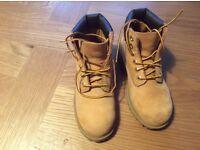 Child's Timberland boots