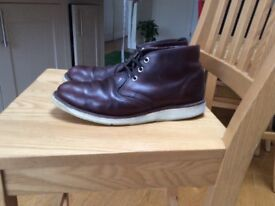 MENS RED WING CHUKKA BOOTS SIZE UK 8