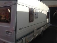 Bailey ranger 500/5 5 berth caravan