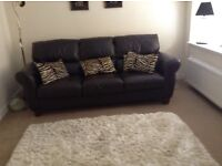 Leather 3seater sofa purchased Martin frost