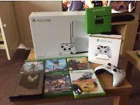 Xbox One S 2TB launch console with non original controller (See Description)