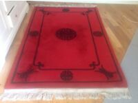Chinese rugs good condition 9ftx6ft 4ftx6ft