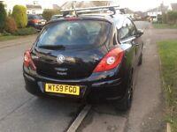 Vauxhall Corsa 1.4 Design. Black.